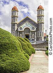Beautiful Church in Zarcero - Beautiful church located in...