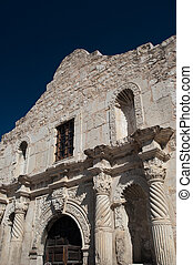 The Alamo - The famous Alamo Mission in San Antonio, Texas