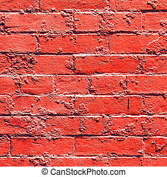 Maisons, murs, historique, vieux, brique