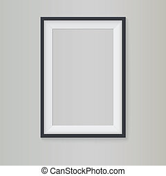 Blank frame for branding and your design.