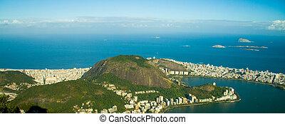 Lagoa Rodrigo de Freitas in Rio de Janeiro