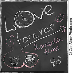 Love forever and Romantic time