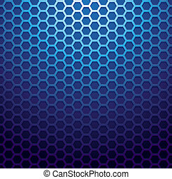 Blue metallic grid background RGB EPS 10 vector illustration...