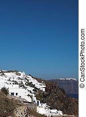 Santorini islands in the Cyclades