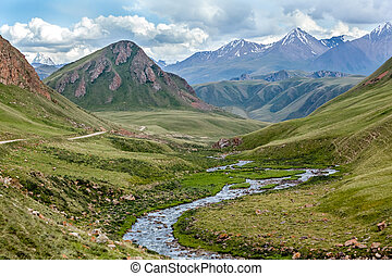 Majestic Tien Shan mountains, Kirgizstan