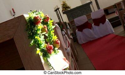 Flower Decoration in Church