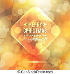 glass frame - vector glass frame, christmas background