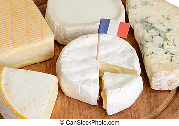 Sorts of french cheese - Different sorts of french soft...