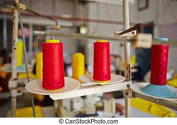 Textile factory