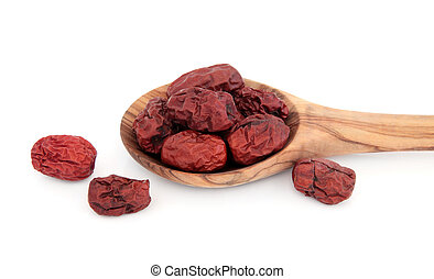 Red Dates Jujube - Jujube, red dates used in chinese herbal...