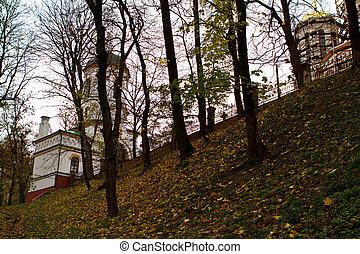 castle XVI ages - The old-time castle XVI ages Ostrog...