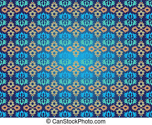 ottoman seamless pattern one