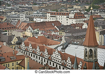 Munich Vernacular - A view over the lands of Munic