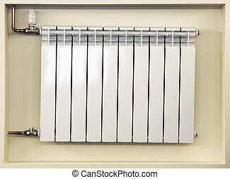 Heating Radiator - Central Heating Radiator with Thermostat...