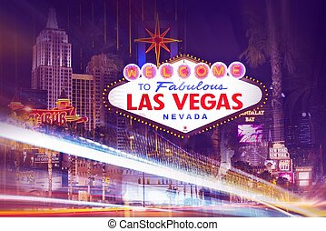 Las Vegas Lights in Motion Never Ending Fun in Vegas Las...
