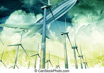 Future Technology - Technology of the Future. Air...