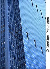 Glassy Skyscraper - Modern American Architecture Chicago USA...