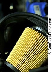 Sport Car Air Filter - Performance Vehicle Air Filter.