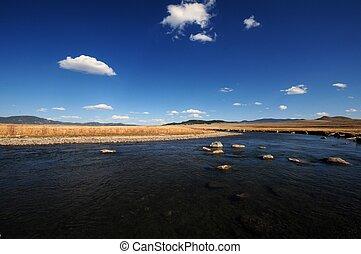 Platte River - South Platte River. South Central Colorado...