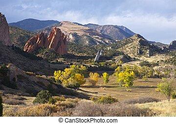 Garden of the Gods -Fall. Fall in Colorado Springs.