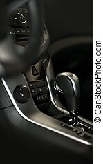 Driving Console - Modern Vehicle Interior Design Central...