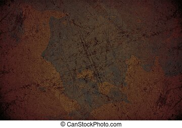 Corroded Background - Corroded Texture. Dirty Corroded Metal...
