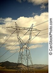 High Voltage Lines - High Voltage Power Lines in Nevada...