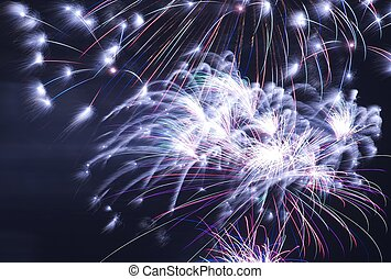 Fireworks at Night - Cool Fireworks on the Dark Sky