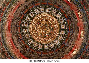 Round roof interior design