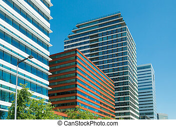 business district - The amsterdam Zuidas (South Axis)...