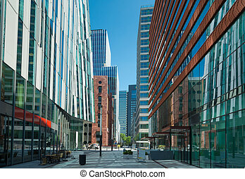 business district - The amsterdam Zuidas South Axis business...