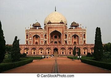 Humayan\\\'s Tomb, Delhi, India