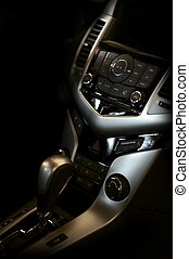Dark Vehicle Interior - Dark Elegant Vehicle Interior -...