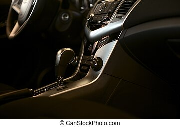 Auto Interior - Dark Vehicle Interior Design Studio Photo...