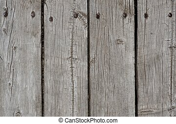Wood Wall - Wood Planks Wall. Pretty Old Planks with Nails....