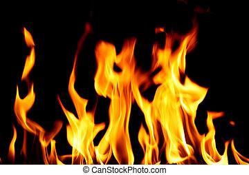 enfer, brûler