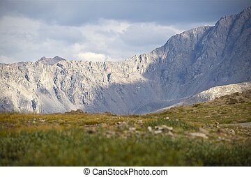 Independence Pass - Rocky Mountains. Road (Pass) Between...