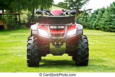 ATV - Quad Bike - ATV ( All Terrain Vehicle ) - Quad Bike on...