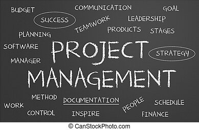 Drawings of Project management wordcloud - Illustration of word ...