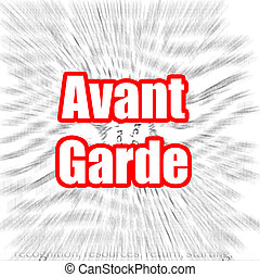 Avant Garde - Hi-res original rendered computer generated...
