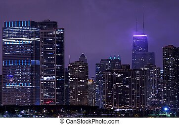 Night Life Chicago - All Time Living Chicago Downtown. Part...