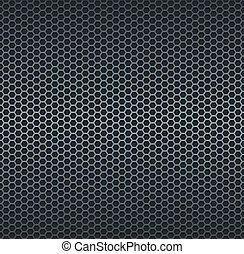 Silver metallic grid background RGB EPS 10 vector...