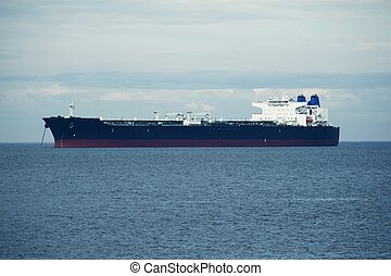 Large Ship on Sea - Transportation and Logistics Photo...