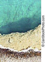 Geyser Basin - Geyser Pool Basin - Yellowstone National...