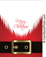 Santa Claus background - Christmas background with a Santa...