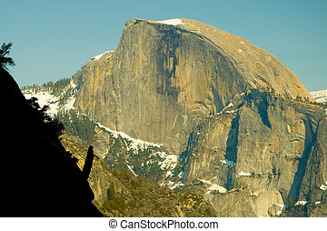 Half Dome - The highest point in the Yosemite Valley, Half...