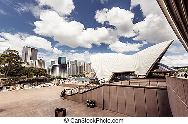 Sydney Opera House - View of Sydney Opera House, Sydney,...