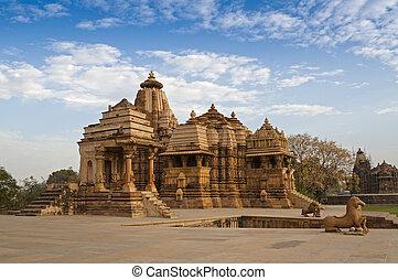 Devi Jagdambi Temple, Khajuraho - Devi Jagdambi Temple,...