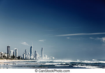 Gold Coast, Queensland, Australia - City Gold Coast,...