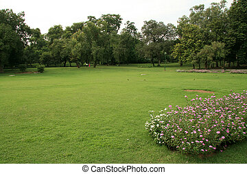 Lodi Garden, Delhi, India - Lodi Garden in Delhi city, India